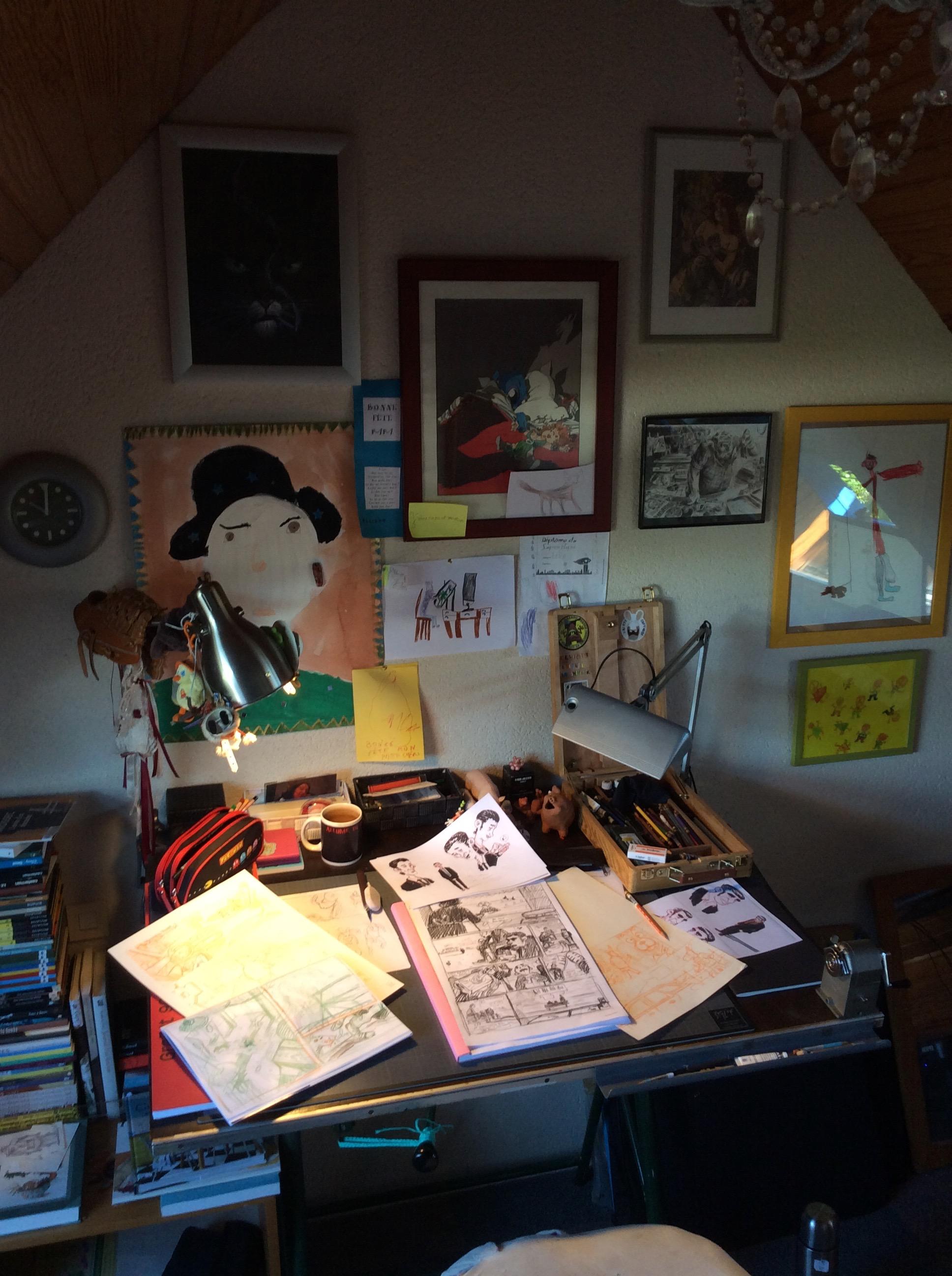 Atelier de Cédrick Le Bihan (2)