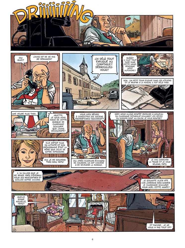 betsy (les aventures de) #2 planche 2