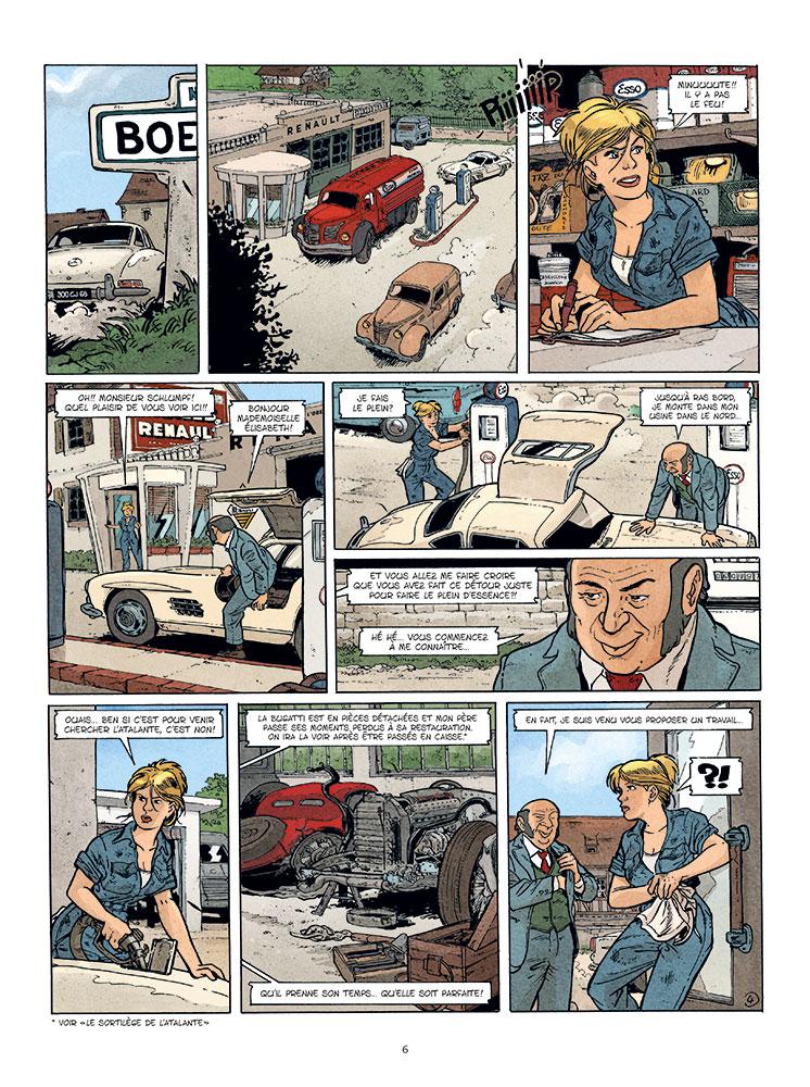 betsy (les aventures de) #2 planche 4