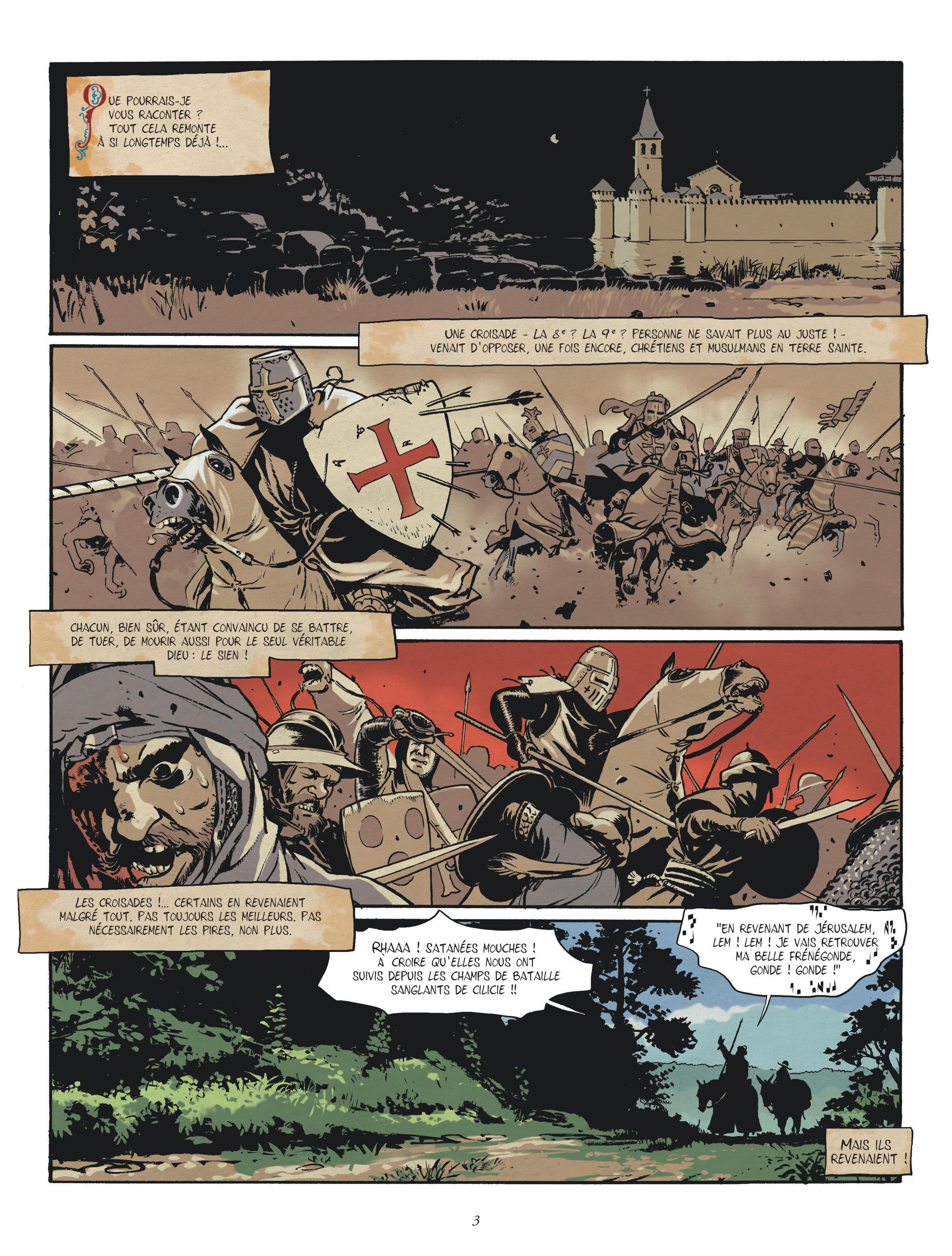 chevalier brayard planche 1