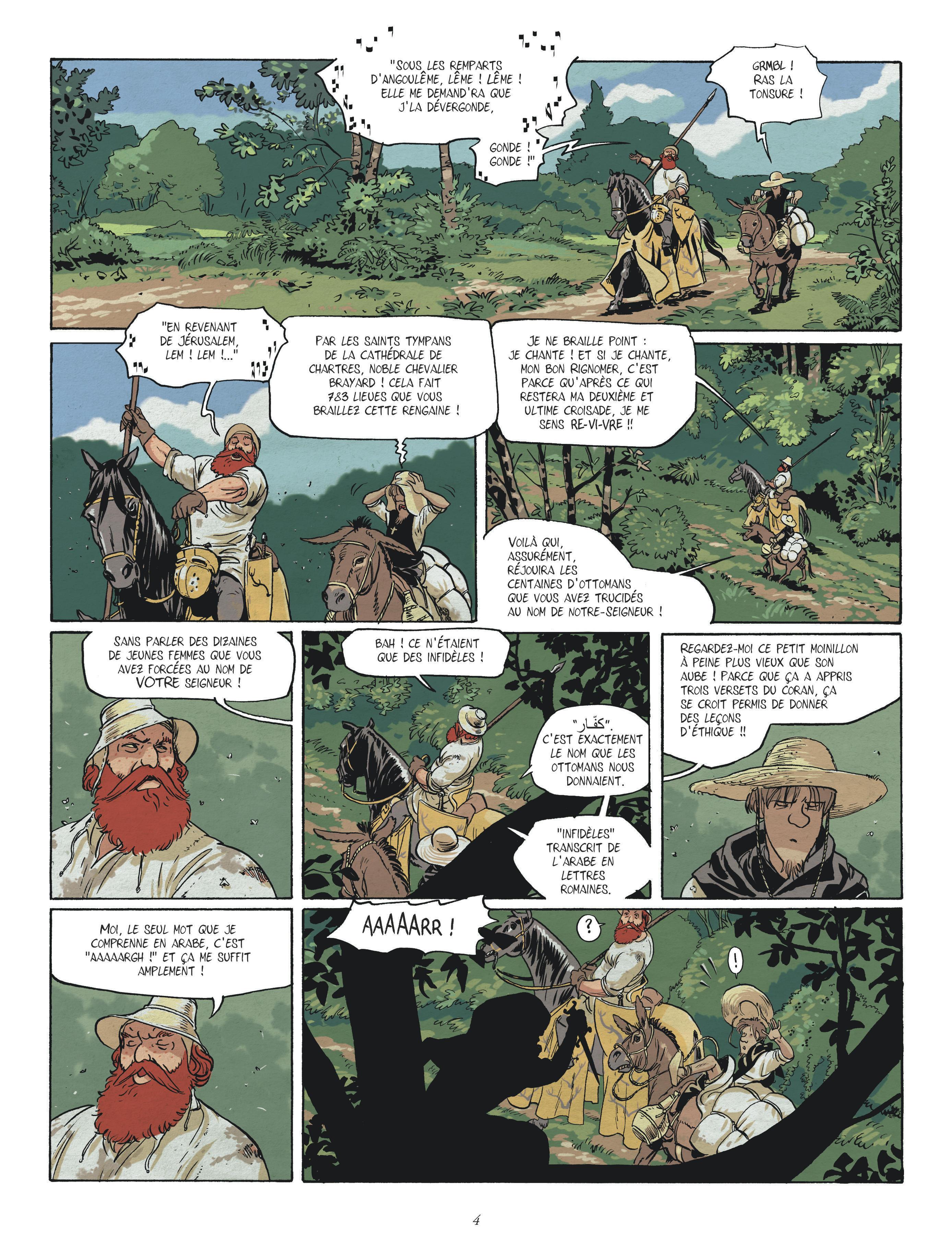 chevalier brayard planche 2