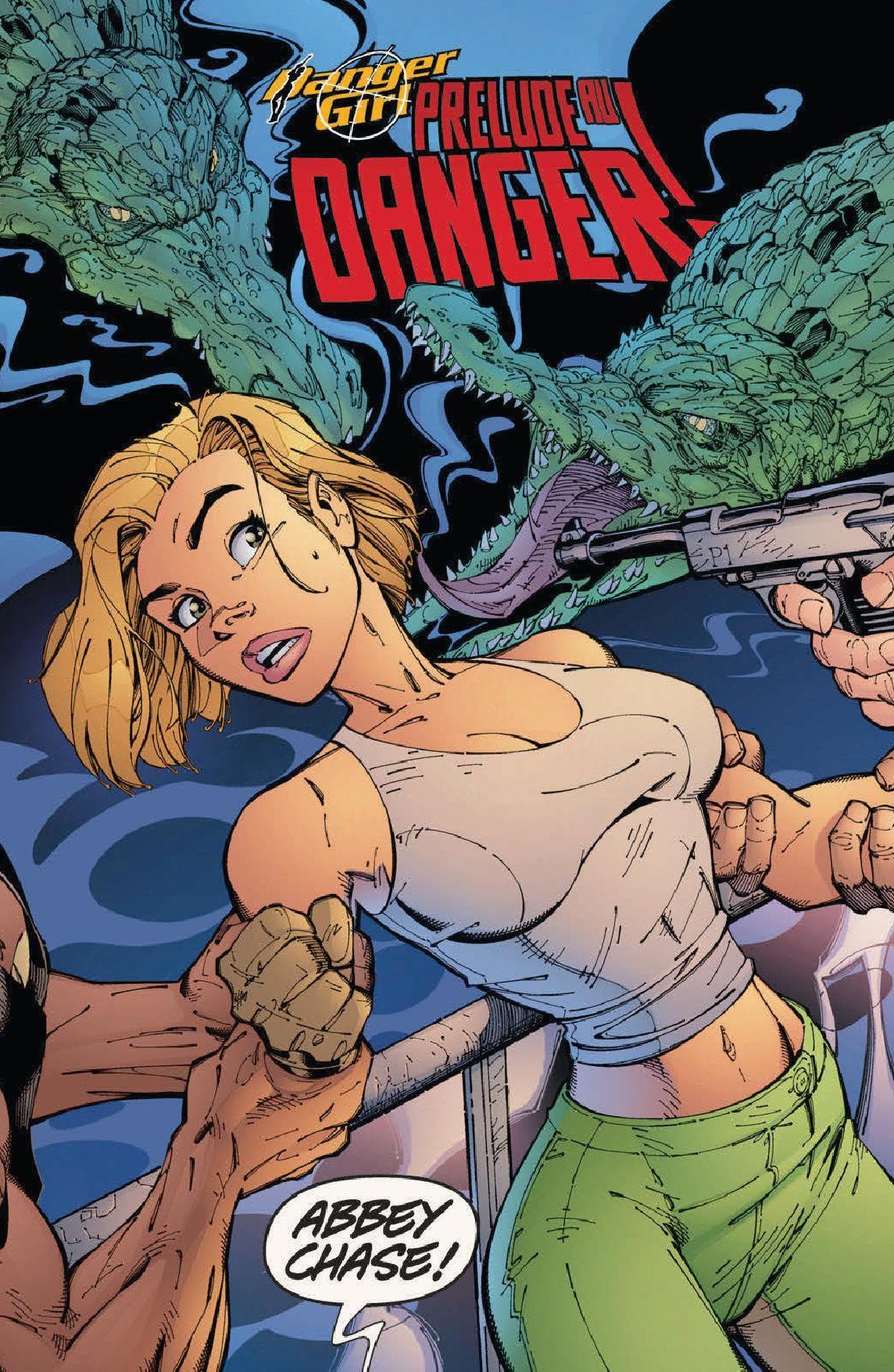 Danger Girl - Opération Hammer1