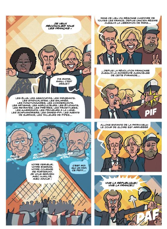 Macron, l'An 1_Planche 3