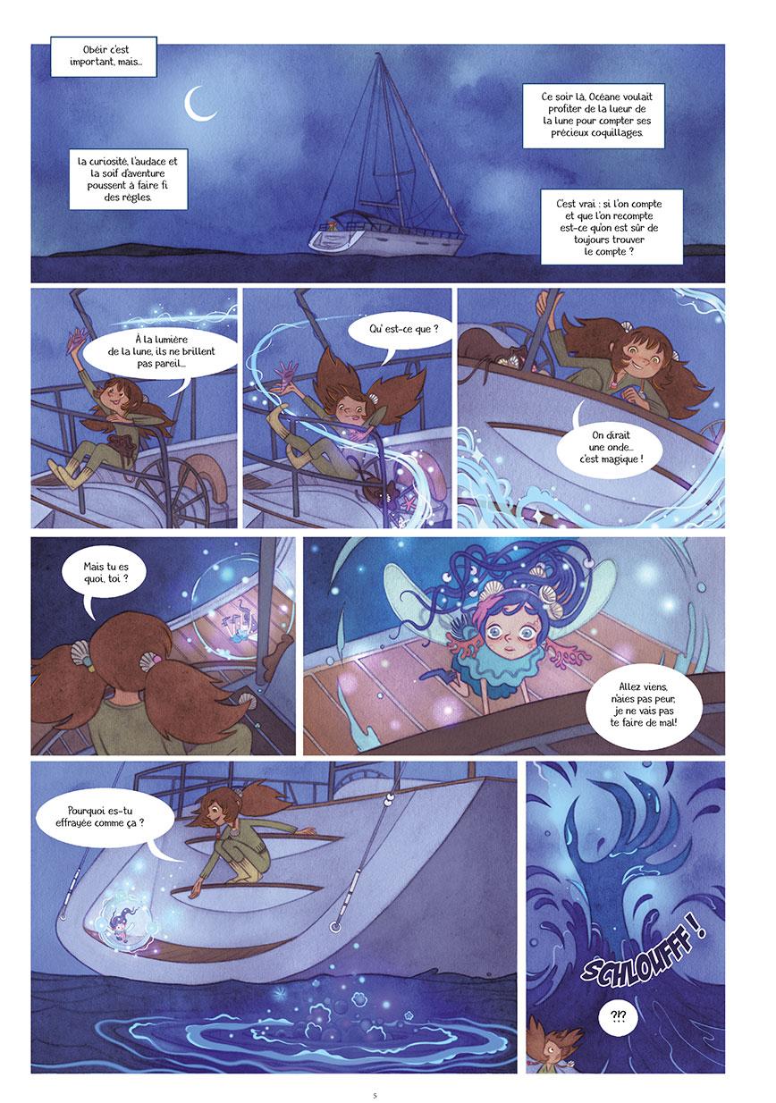 océane et la fée des houles #1 planche 2