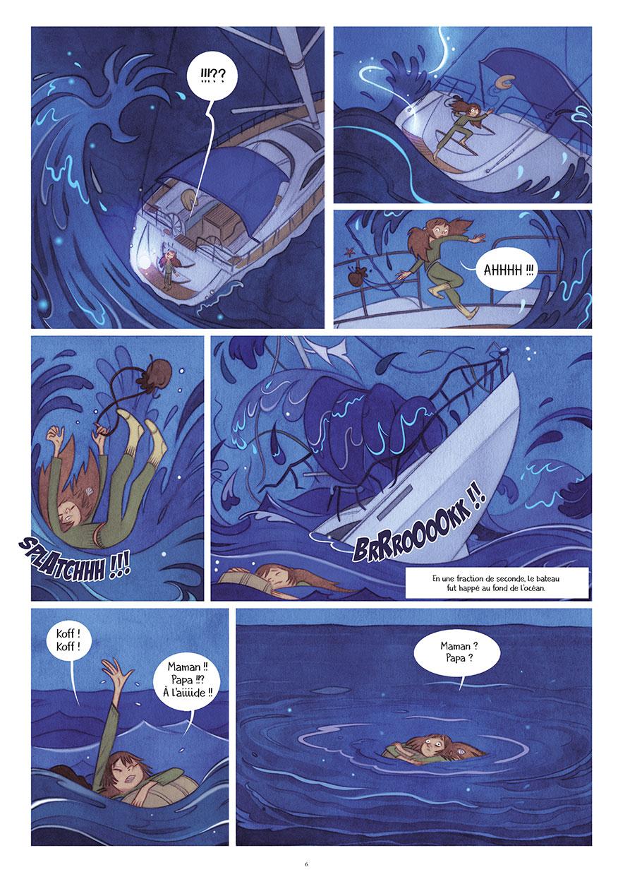océane et la fée des houles #1 planche 3