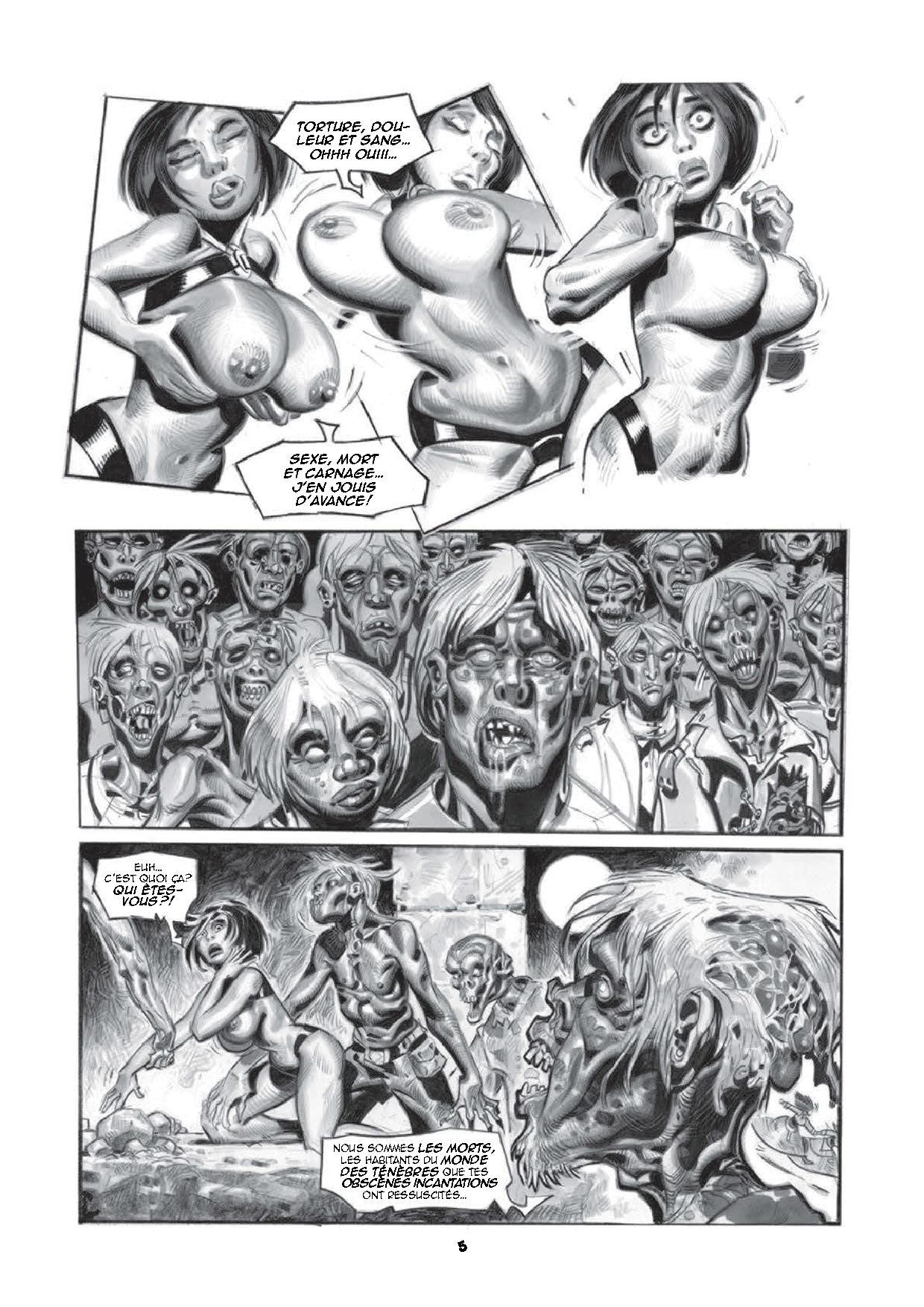 Deanna et les zombis - Les mille et une nuits des morts-vivants-3