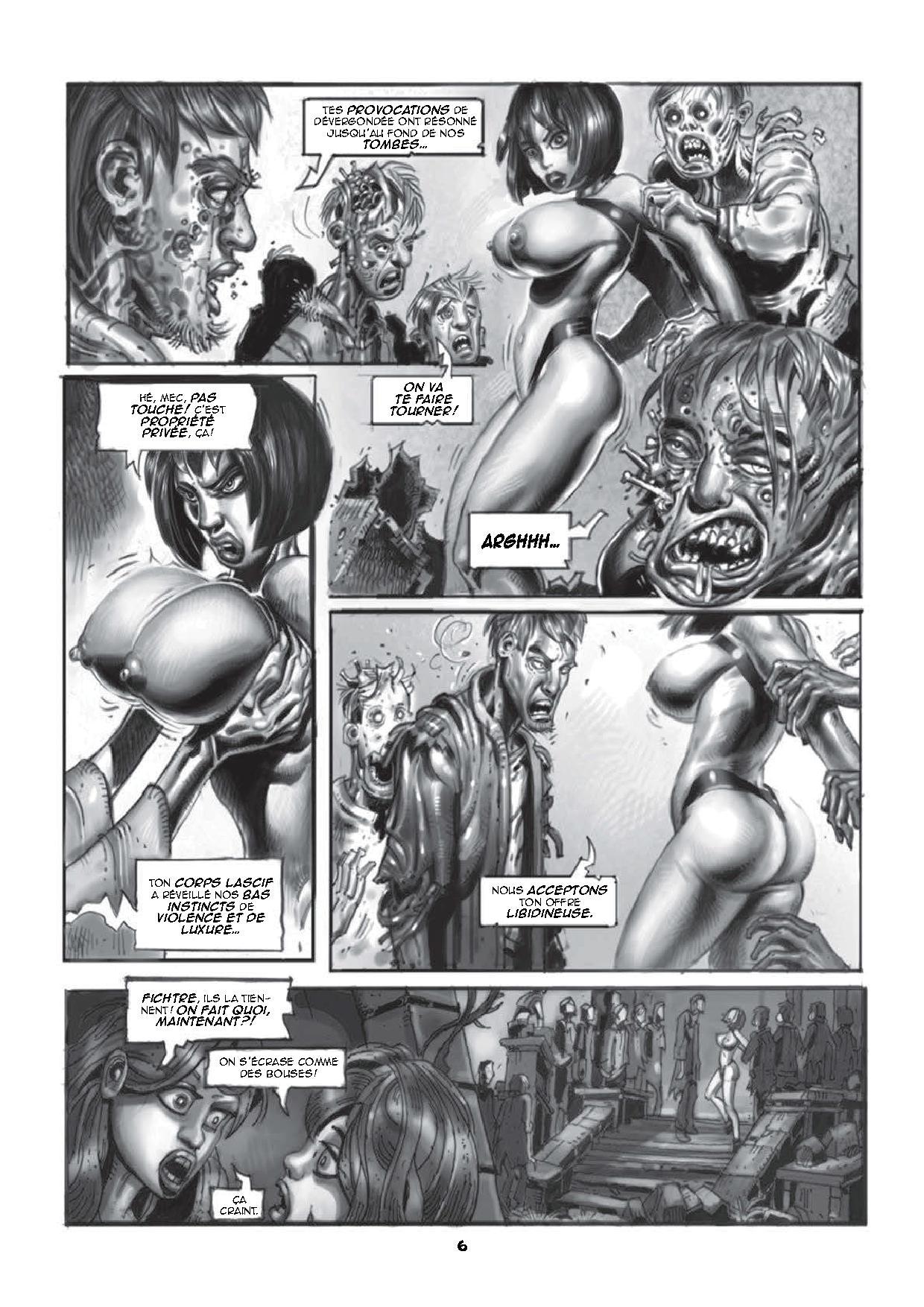 Deanna et les zombis - Les mille et une nuits des morts-vivants-4