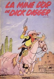 Lucky Luke T1 couverture