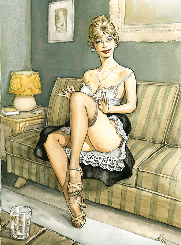 pin-up - la french touch planche 1