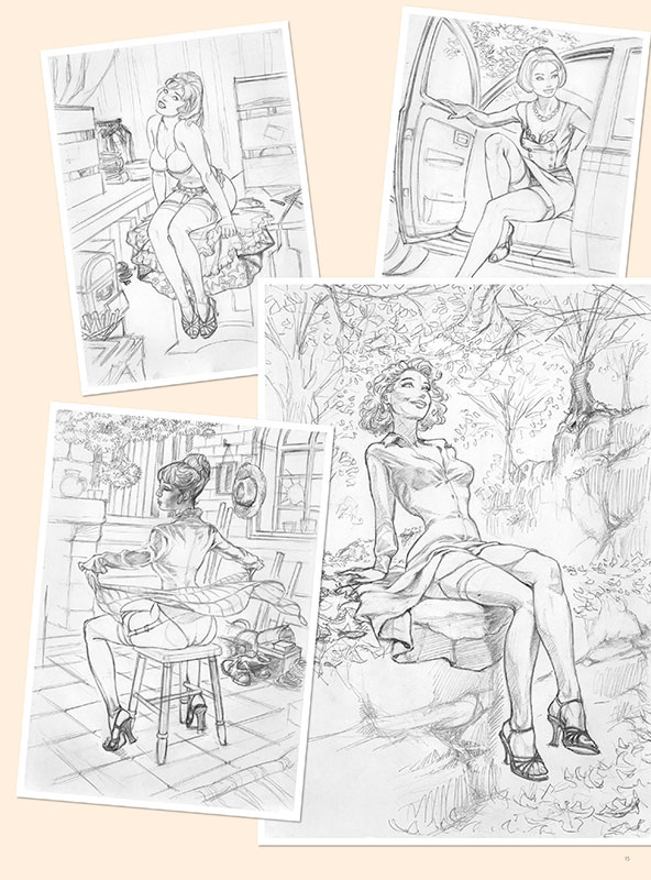 pin-up - la french touch planche 2
