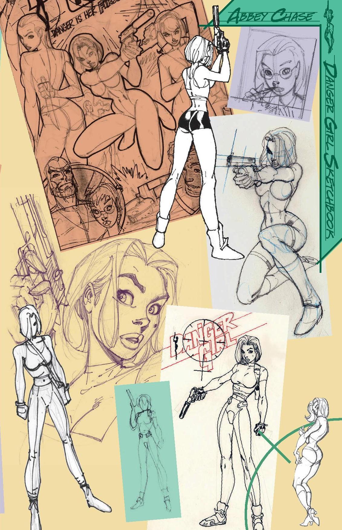 Danger Girl - Sketchbook-2