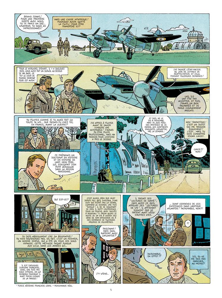 le pouvoir des atlantes #1 planche 3