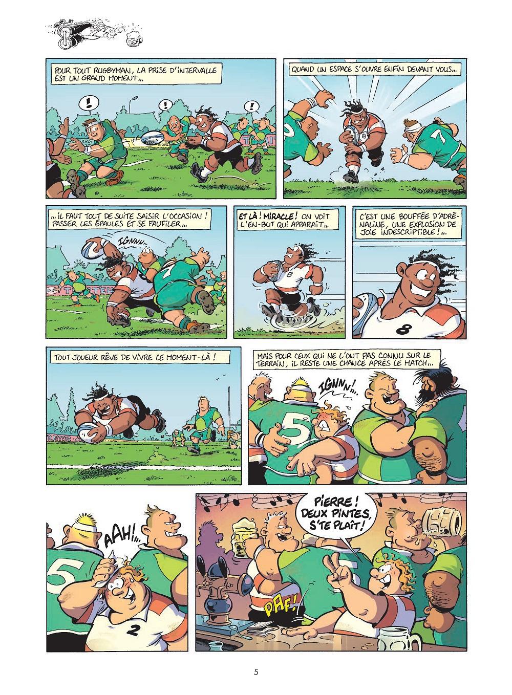 les rugbymen #17 planche 5