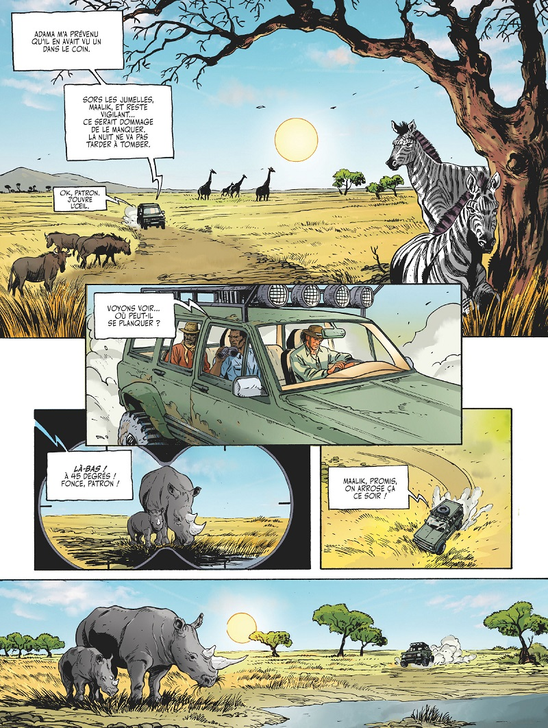 les adieux du rhinocéros planche 1