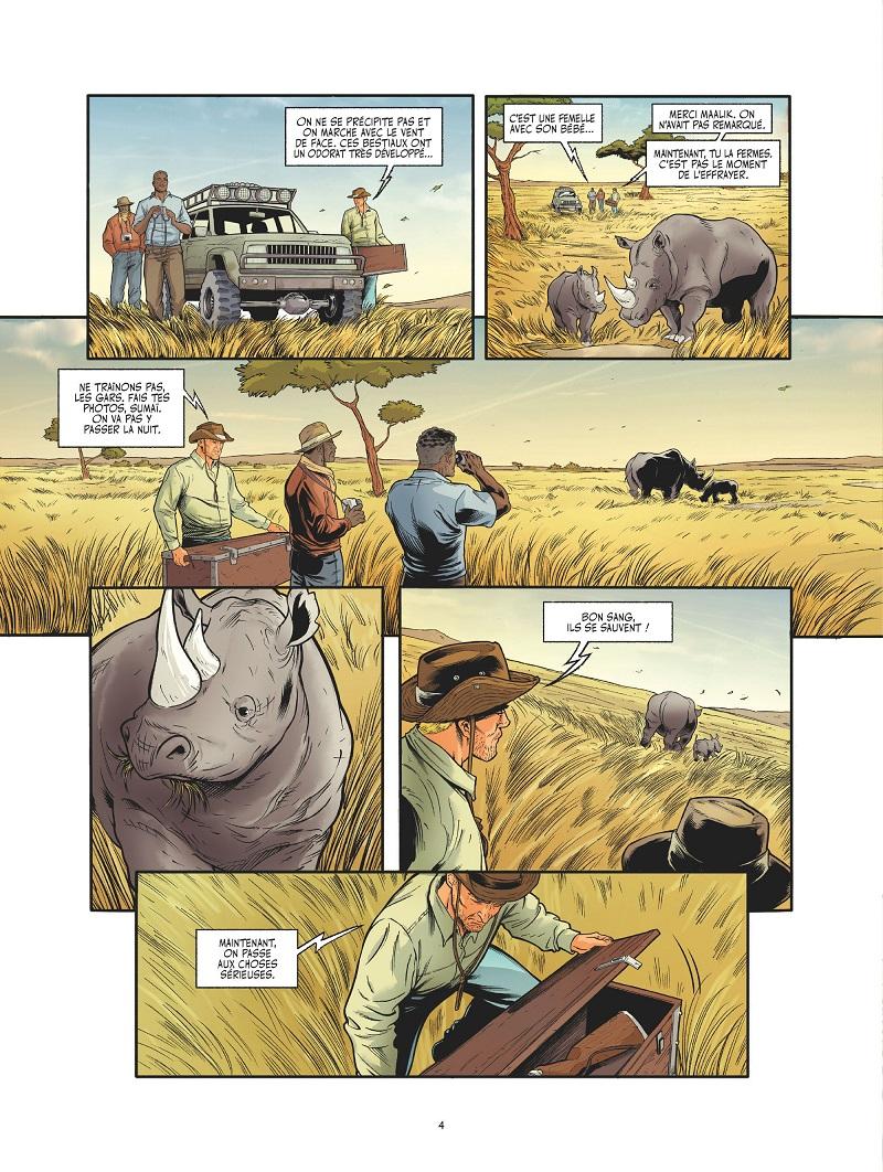 les adieux du rhinocéros planche 2