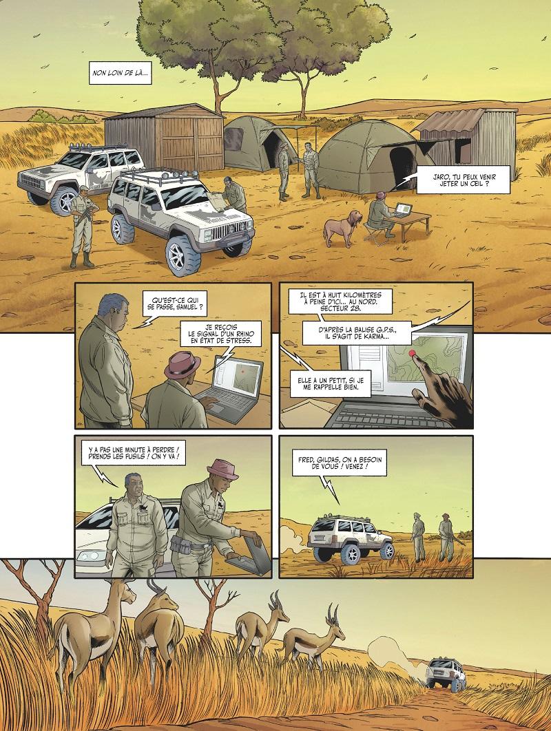 les adieux du rhinocéros planche 3