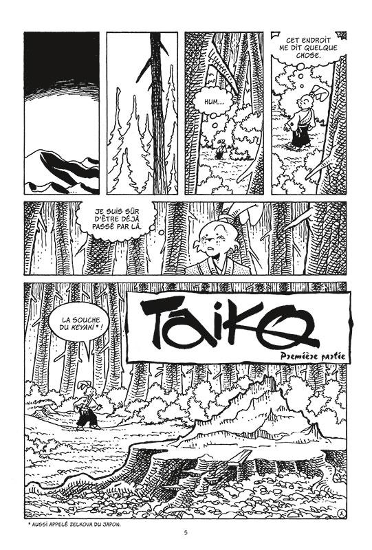 usagi yojimbo #28 planche 1