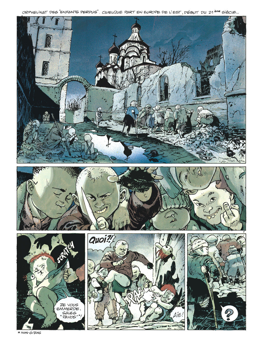gipsy intégrale planche 1