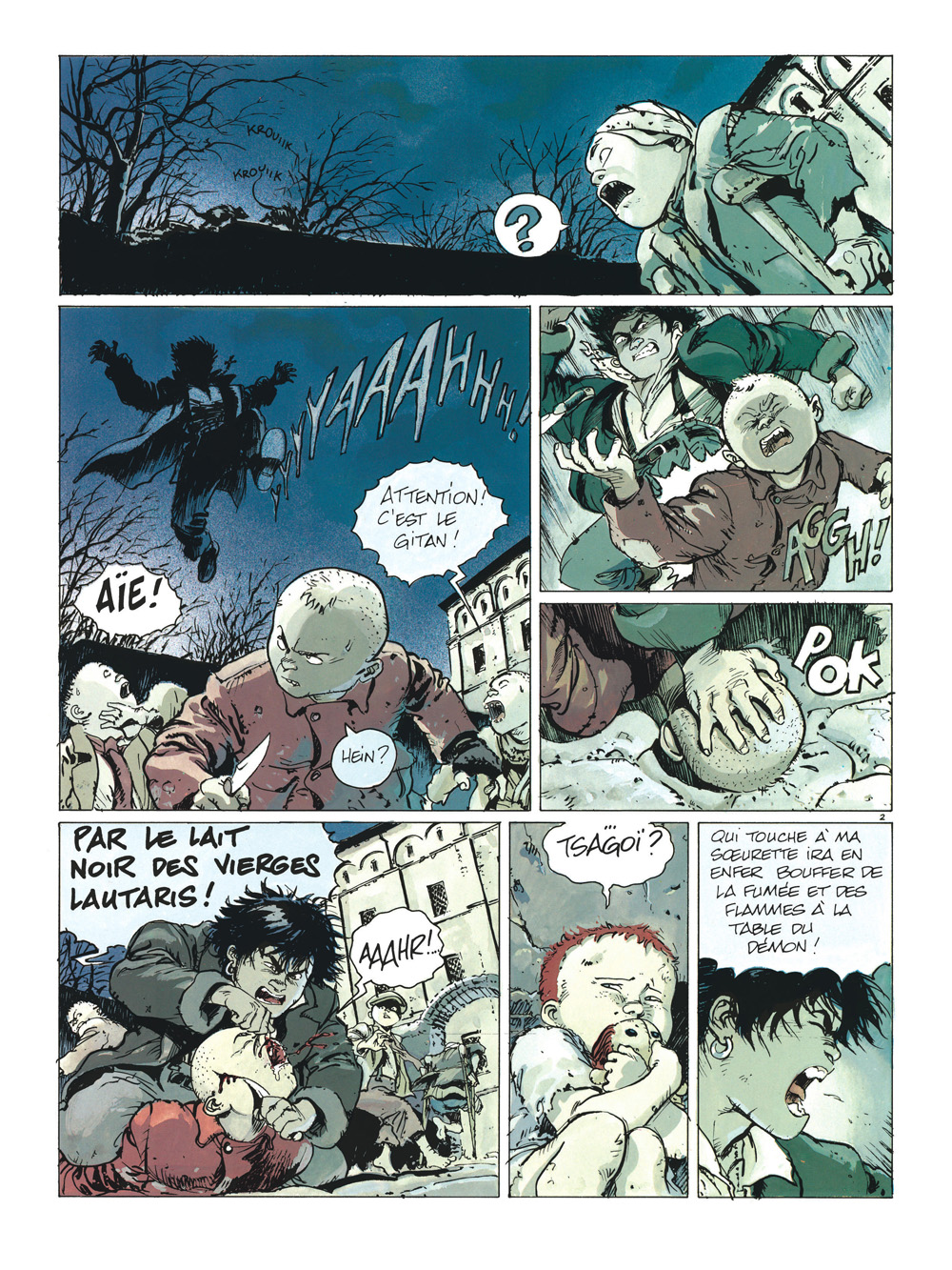 gipsy intégrale planche 2