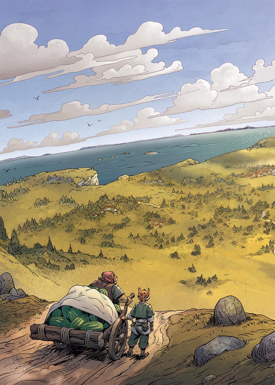 les 5 terres #1 planche 2