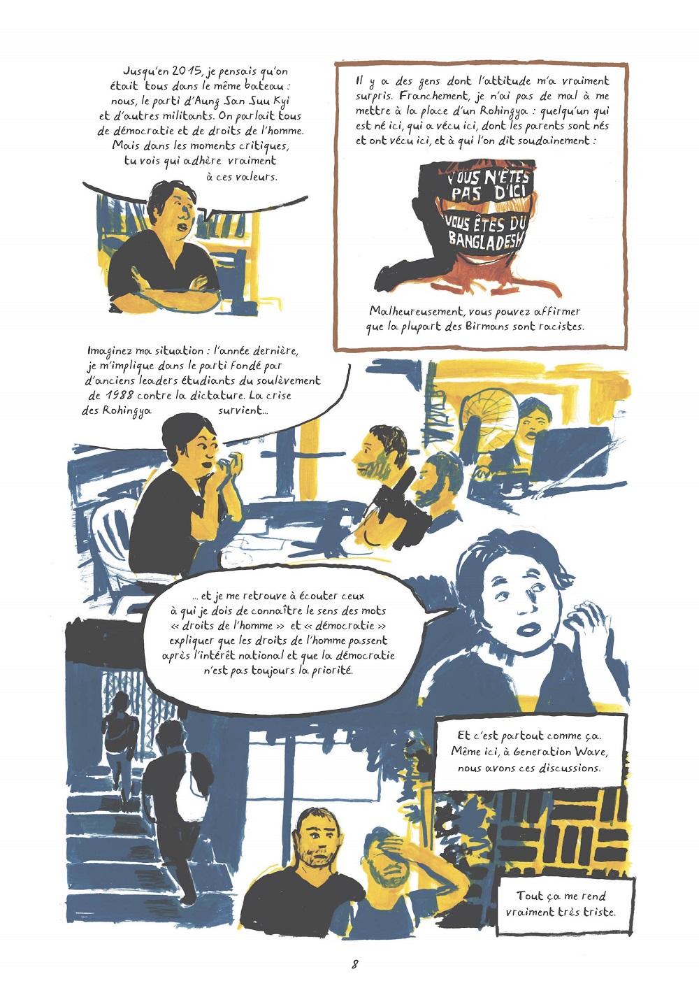 aung san Suu kyi, rohingya et extrémistes bouddhistes planche 3