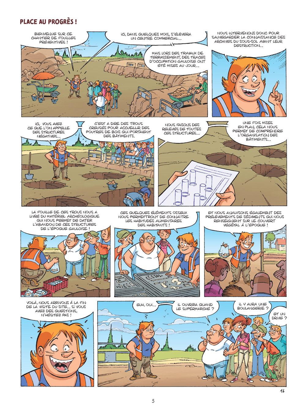 les arkéos #1 planche 3