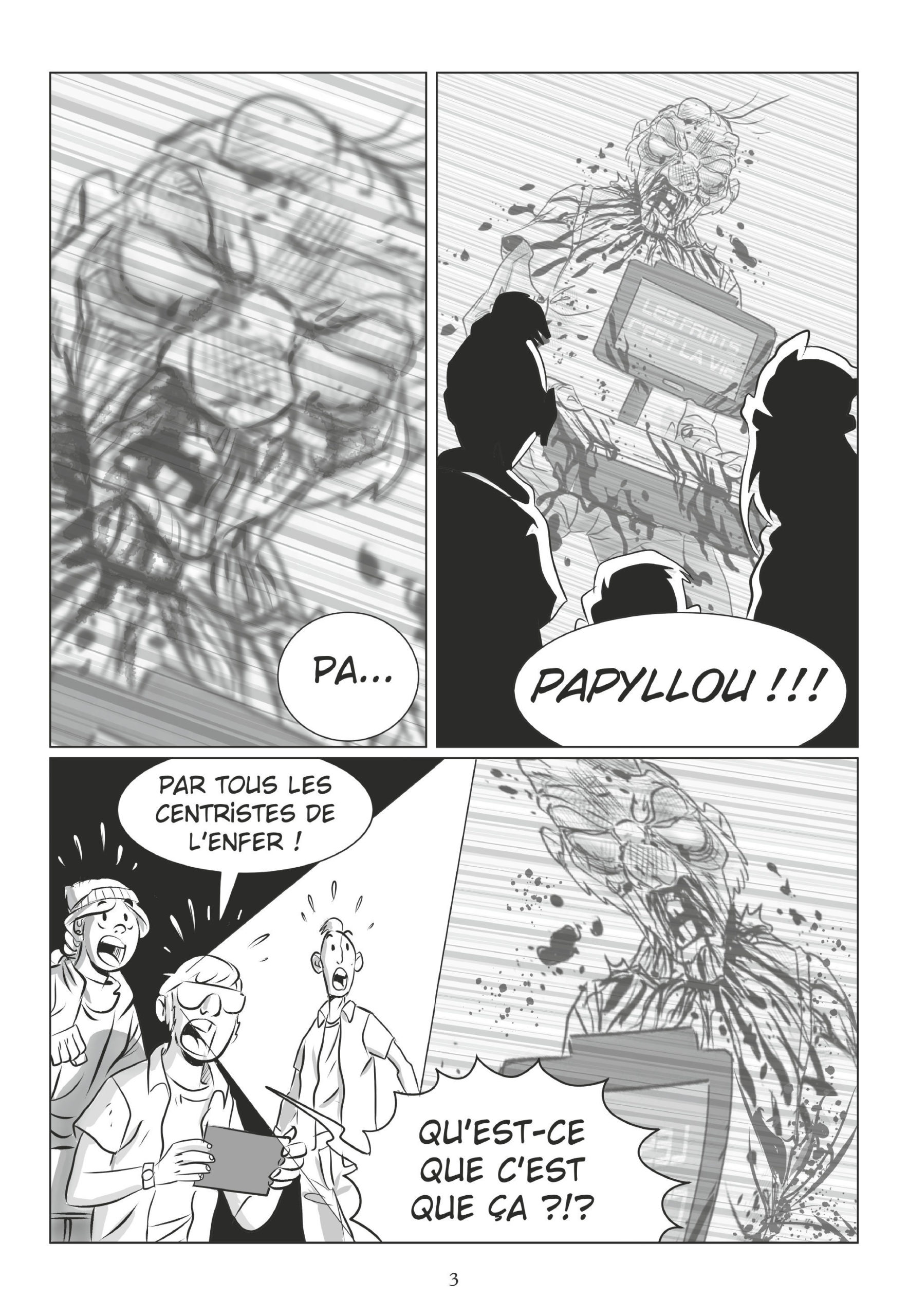 octofight #1 planche 1