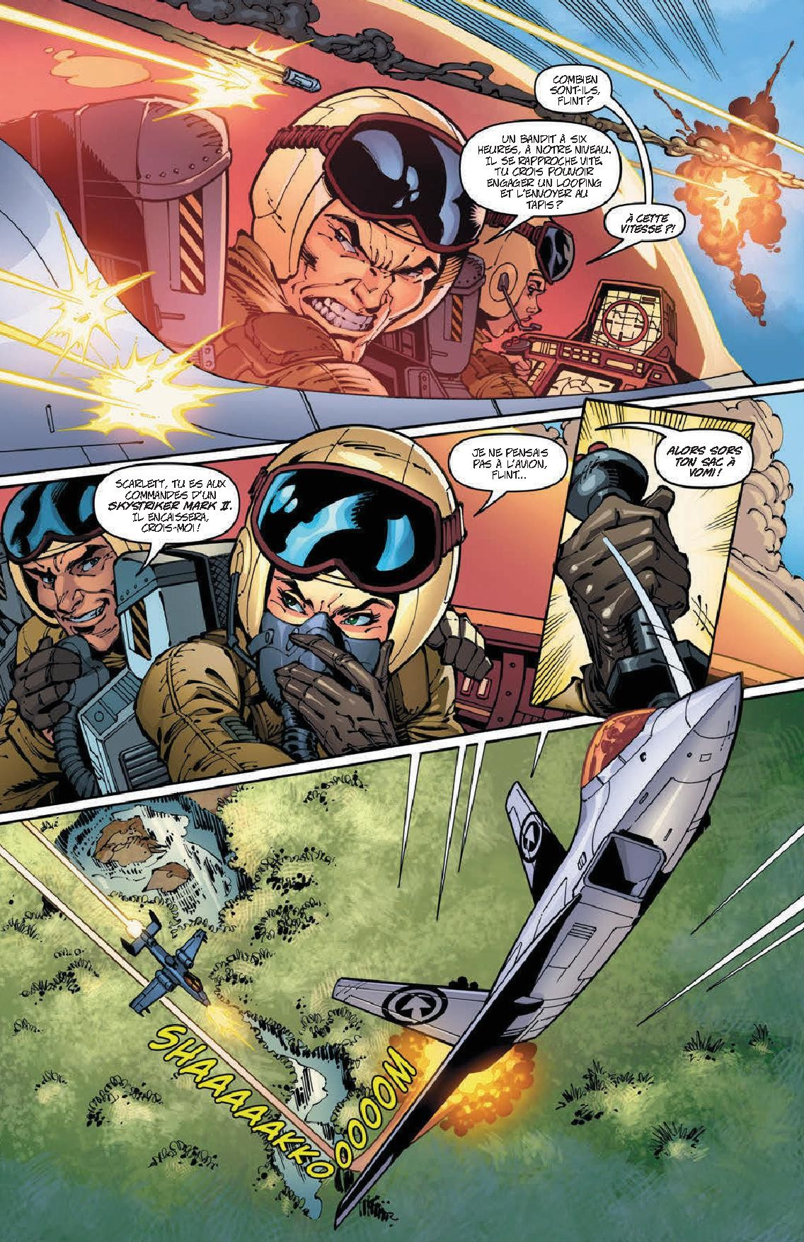 Danger Girl G.I. Joe _ Le Cobra sifflera trois fois-4