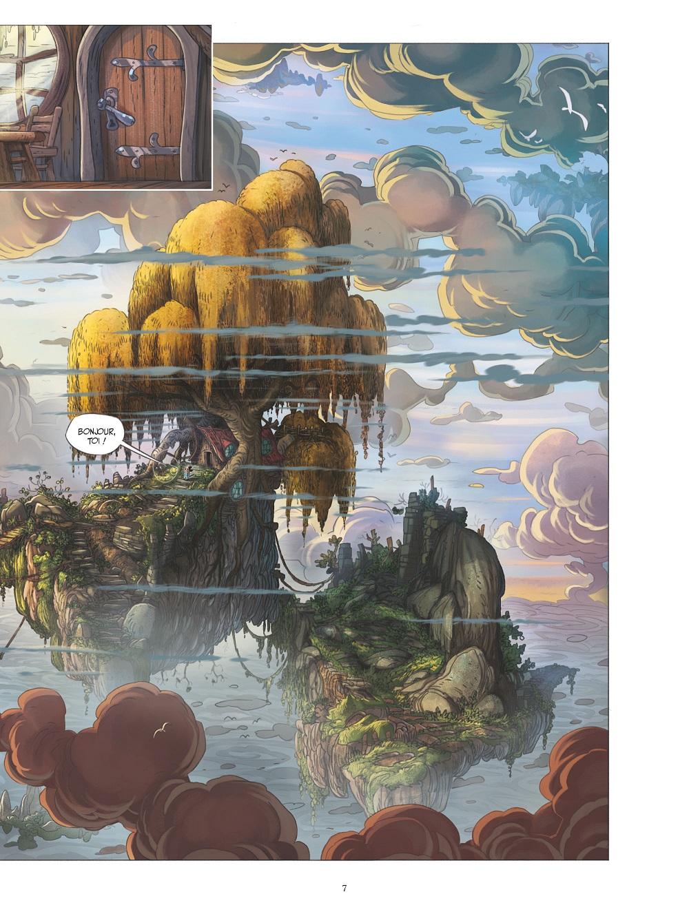 mickey et la terre des anciens planche 3