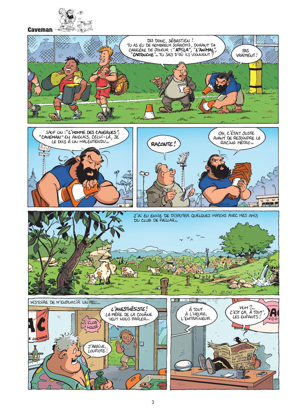 rugbymen #19 planche 1