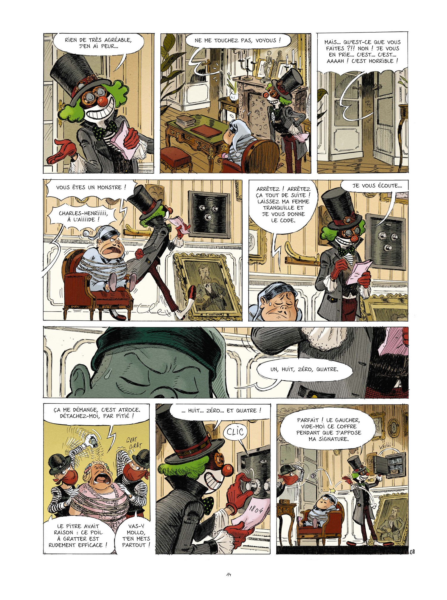Spectaculaires (Une aventure des) #5 (Hautière, Poitevin, Bouchard)