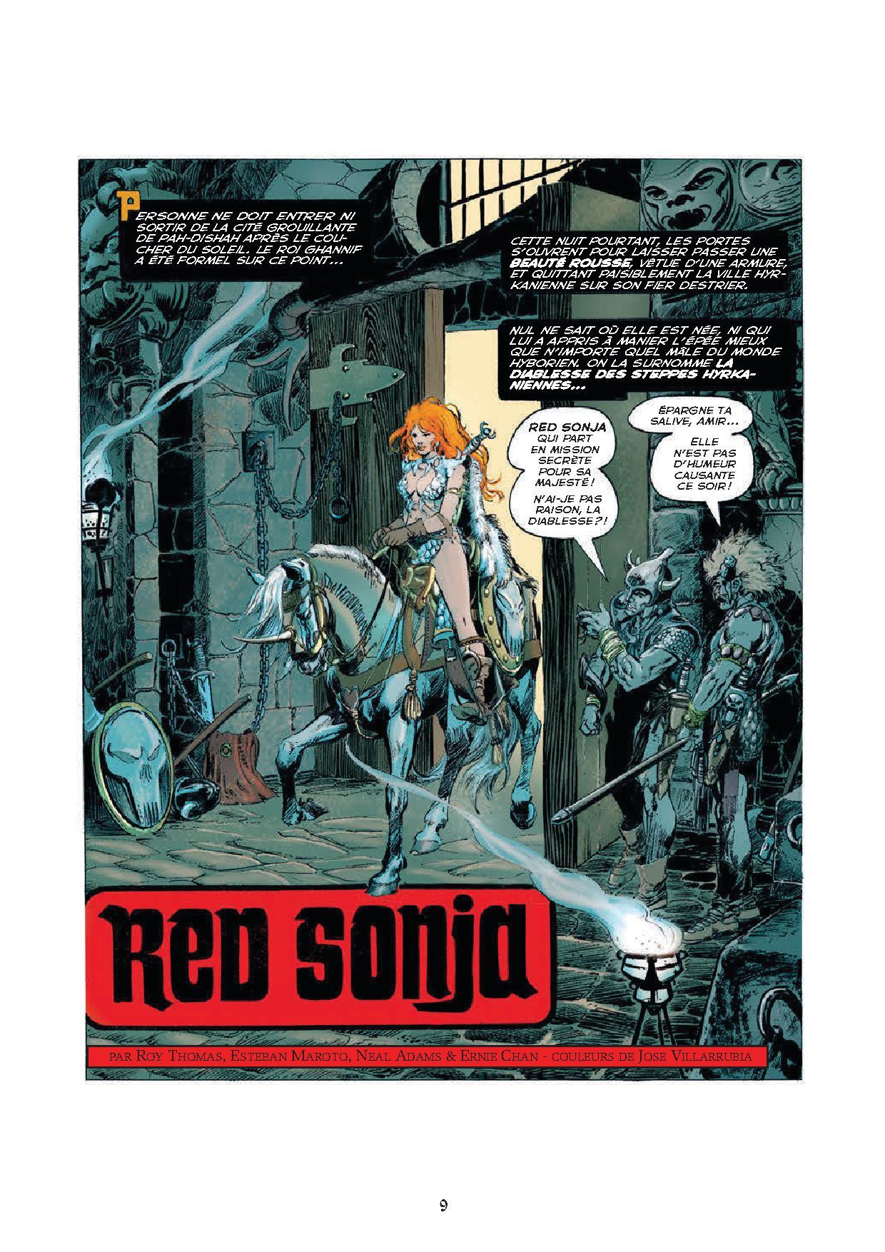 Aventures originales de Red Sonja 1-p1