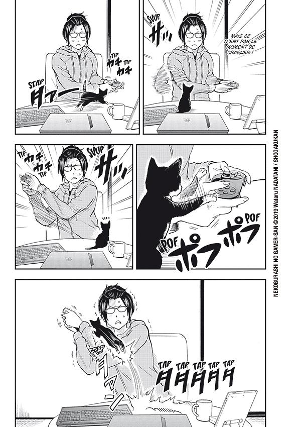 la gameuse et son chat #1 & 2 planche 1