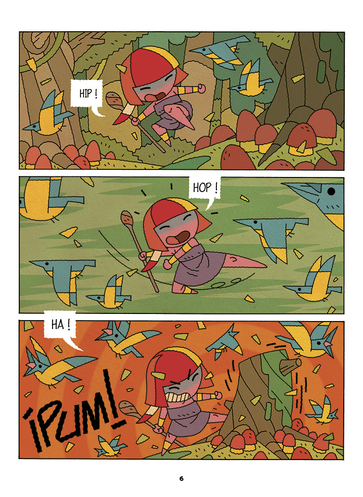 zonia et le feu planche 4