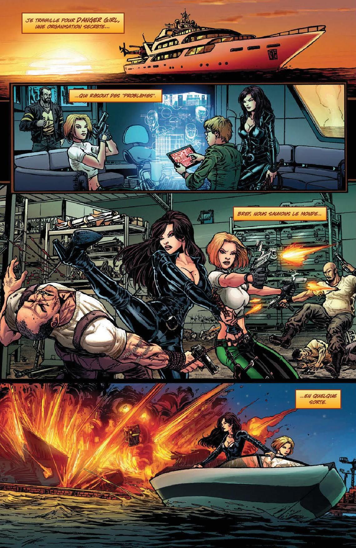 Danger Girl face à l'Armée des Ténèbres-p3