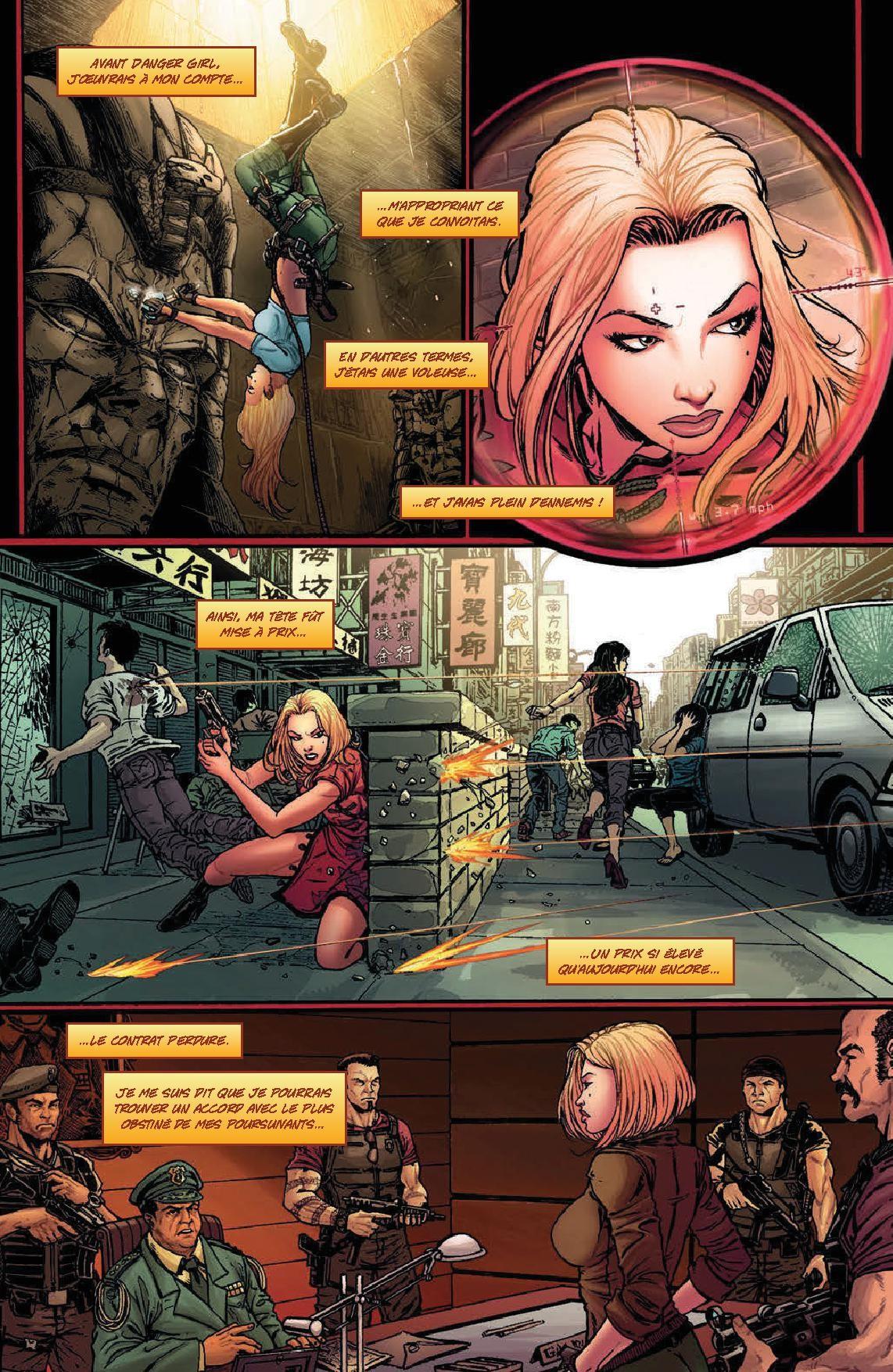 Danger Girl face à l'Armée des Ténèbres-p4