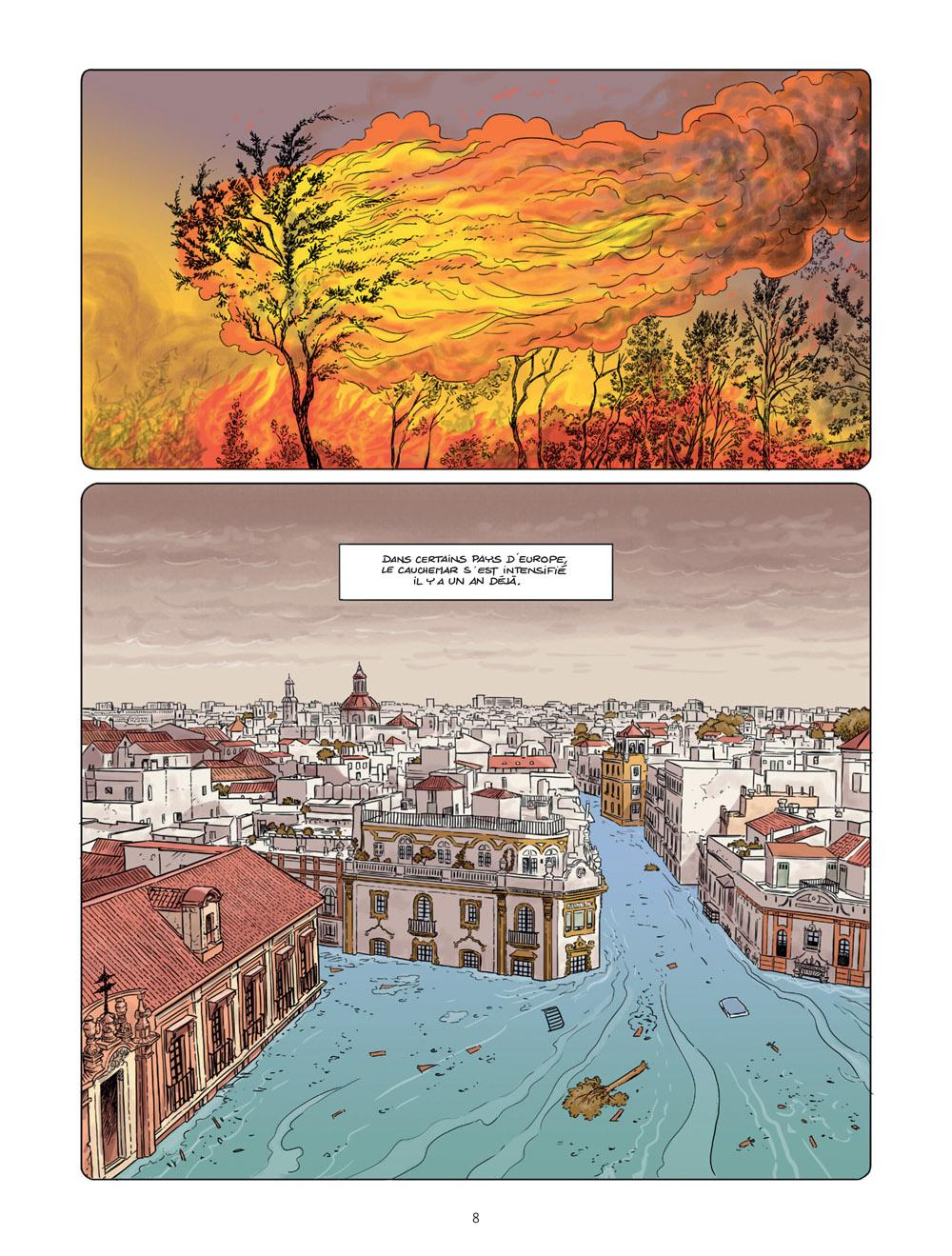 réfugiés climatiques & castagnettes #1 planche 4