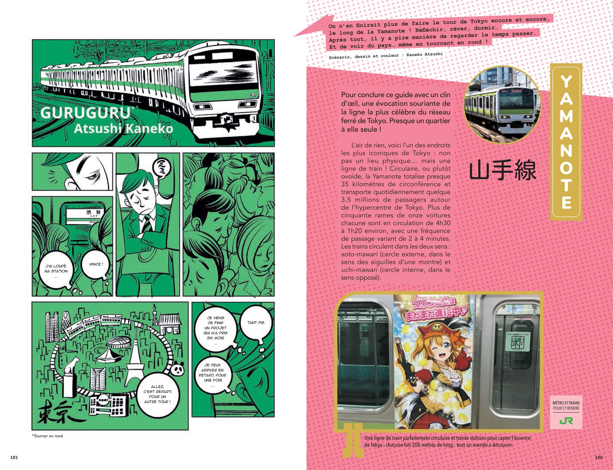 tokyo en manga planche 3