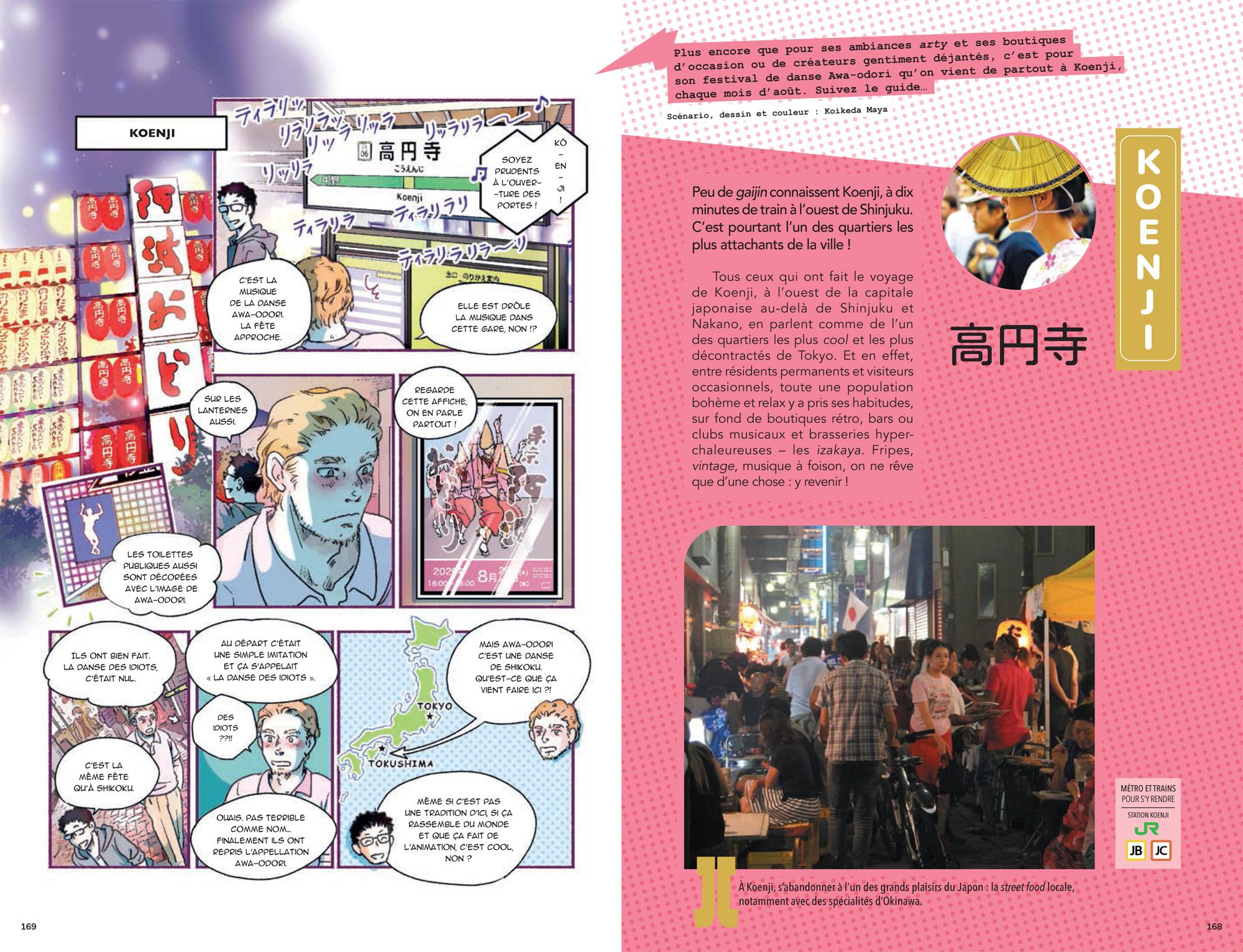 tokyo en manga planche 9