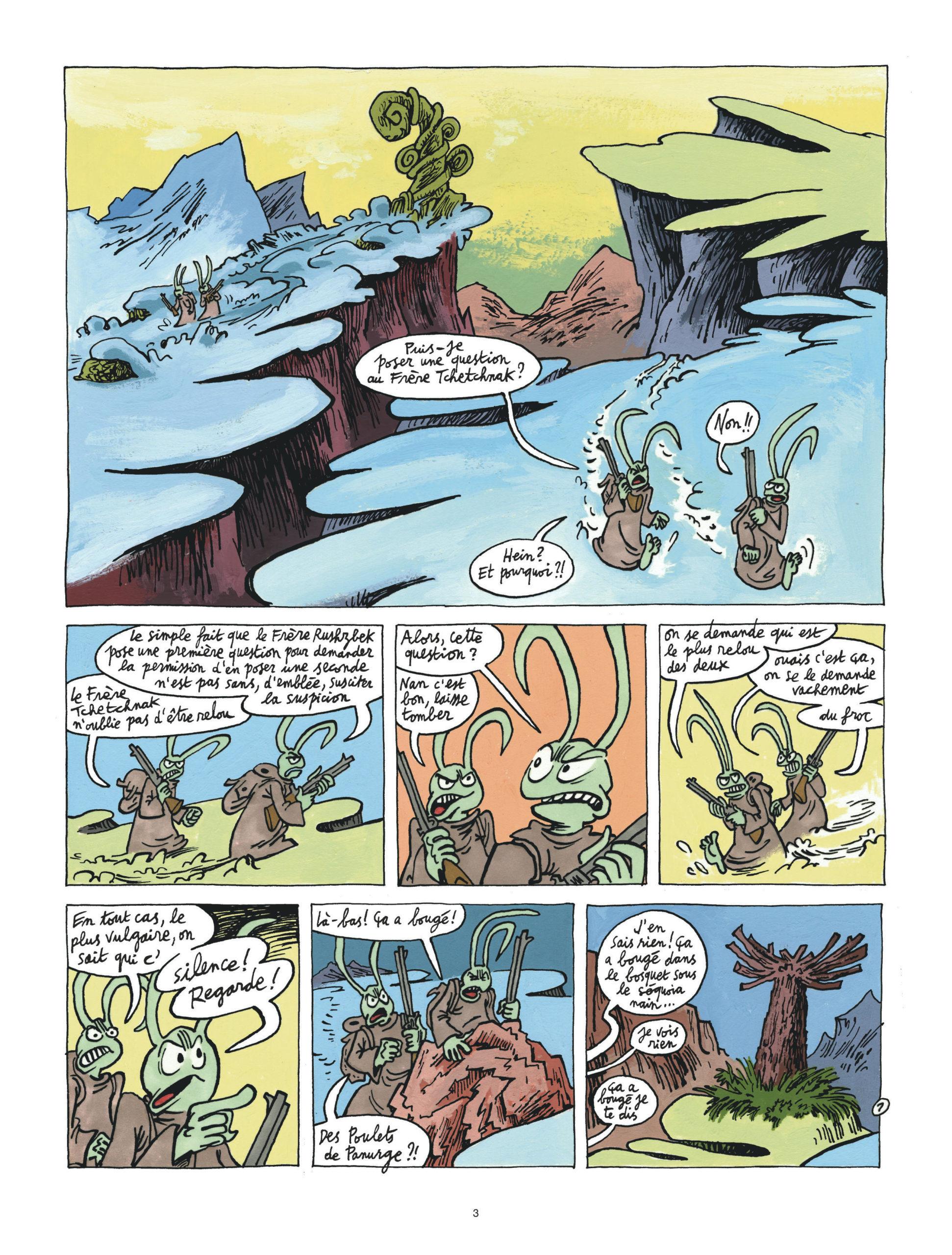 Couacs au Mont-Vérité page 3