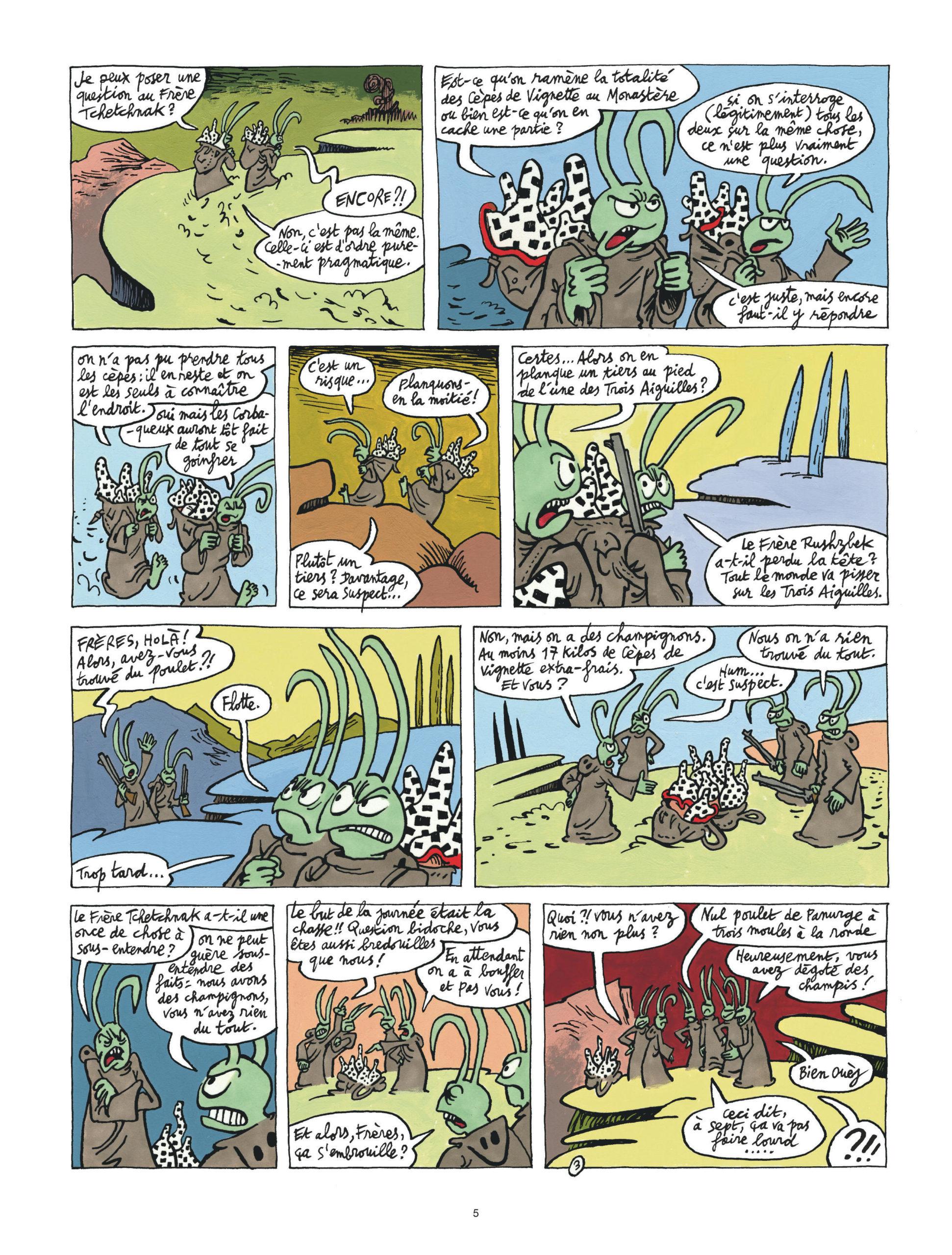 Couacs au Mont-Vérité page 5