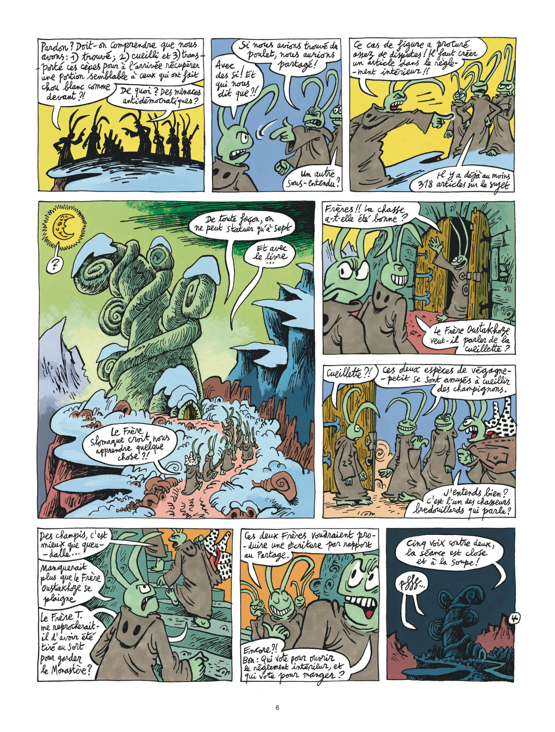Couacs au Mont-Vérité page 6